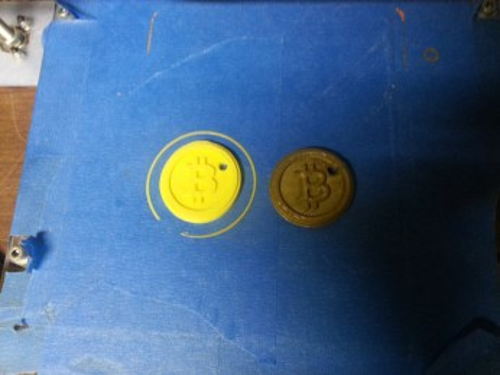 Yellow Bitcoin
