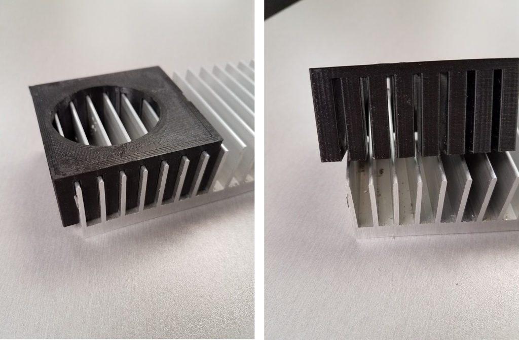 3d printed fixture for milling aluminum