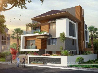 Bunglow Design 3d Architectural Rendering Services 3d