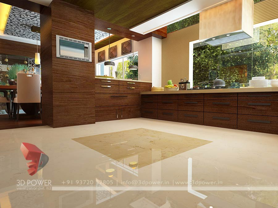 Kitchen Interior Design 3d