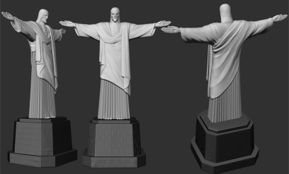 """Scanning the """"Christ The Redeemer"""""""