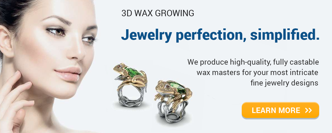 3d wax growing jewelry