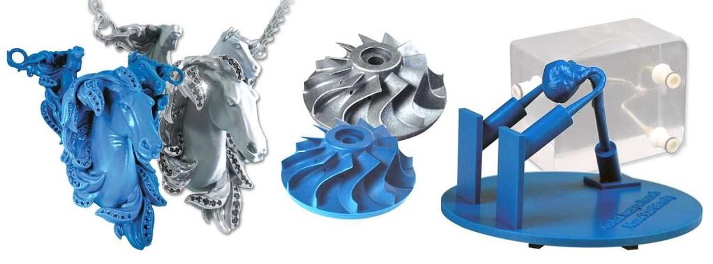 3D Printing Wax Jewelry width=