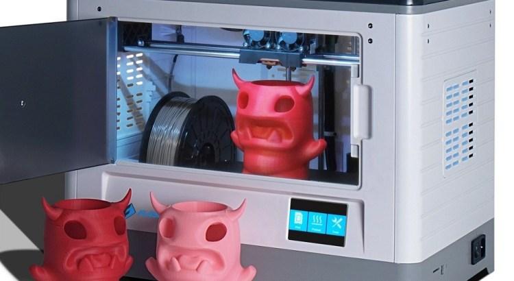 Flashforge Dreamer 3d Printer, Dual Extruder