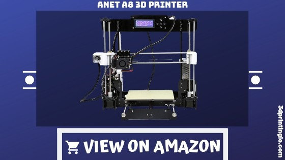 Auto Leveling Anet A8 with Included Filament