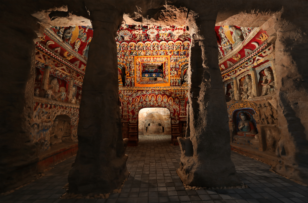 Yungang Grottoes exhibition