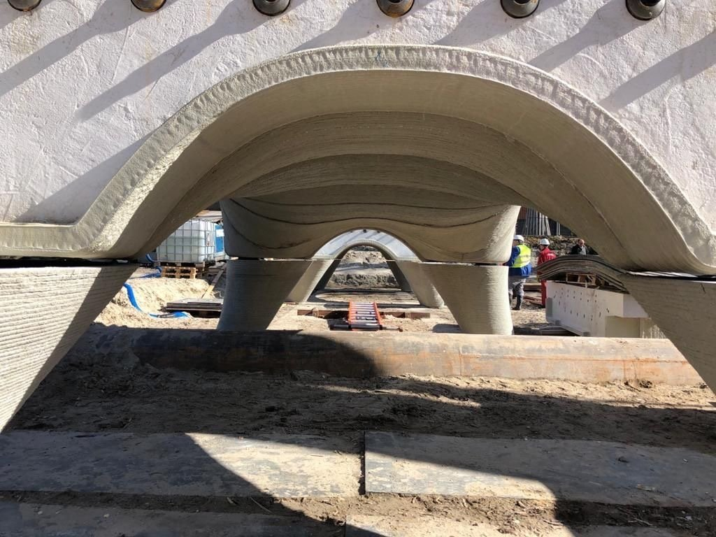 Longest 3D printed concrete pedestrian bridge