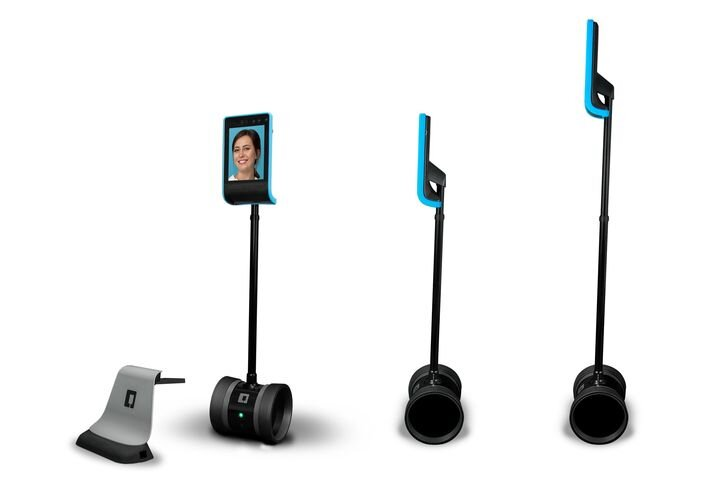Telepresence robot configurations [Source: Double Robotics]