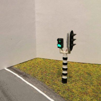 Verkeerslicht combi met voetgangersverkeerslicht