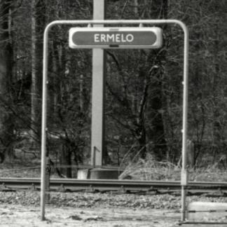 Plaatsnaambord Station Ermelo