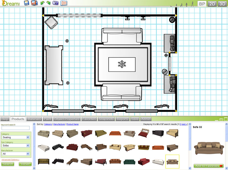 Bedroom planning tool free for Space planning tool