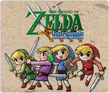 The Legend of Zelda : Four Swords Anniversary Edition - DSiWare