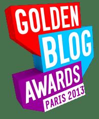 Golden Blog Award Paris 2013