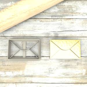 Busta origami formina taglierina per biscotti | Origami Envelope Cookie Cutter