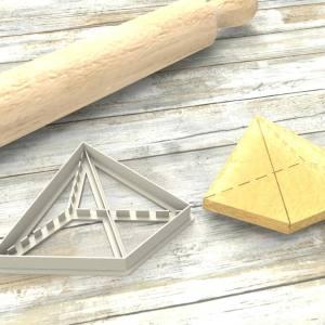 Piramide Formina taglierina per biscotti | Pyramid Cookie Cutter