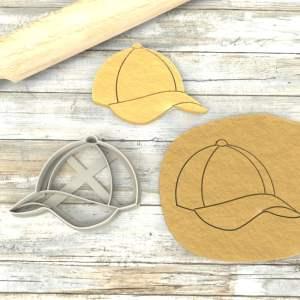 Cappello con visiera formina biscotti Cookie Cutter
