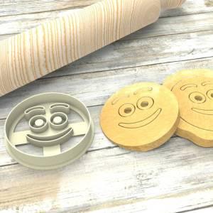 Faccina Smile Emoji Formina taglierina per biscotti | Smile Emoji Cookie Cutter