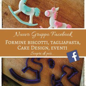 Formine biscotti, tagliapasta, cake design eventi 3dsmart.it