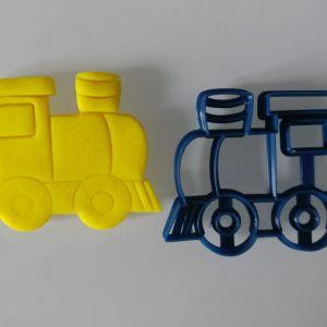 Stampi biscotti Treno, formina Locomotiva