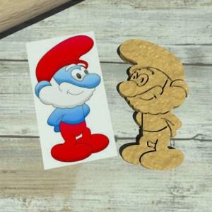 Grande Puffo – Puffi – The Smurfs cookie cutters
