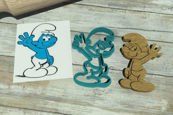 Stampi per biscotti dei puffi