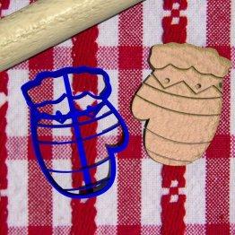 Guanti bambino stampini biscotti