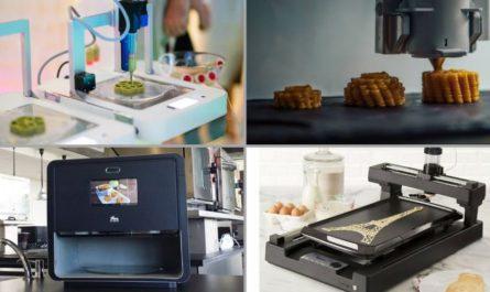 food 3d printer printing