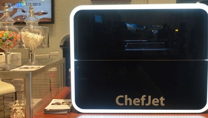 3d systems chefjet food 3d printer