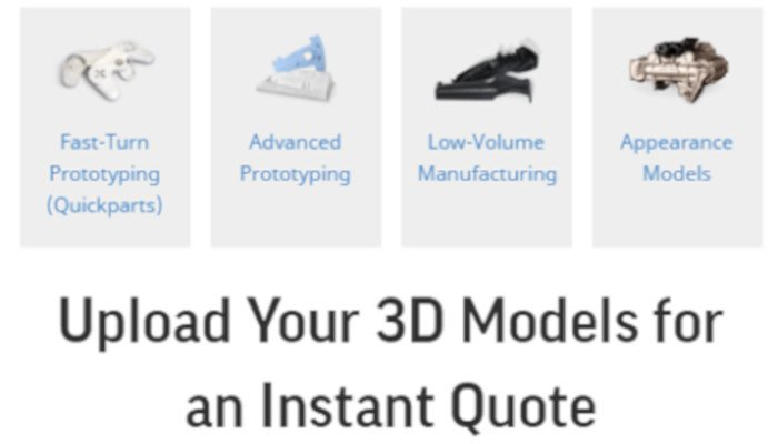quickparts best online 3d printing service
