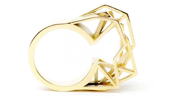 3d printed jewelry ring radian