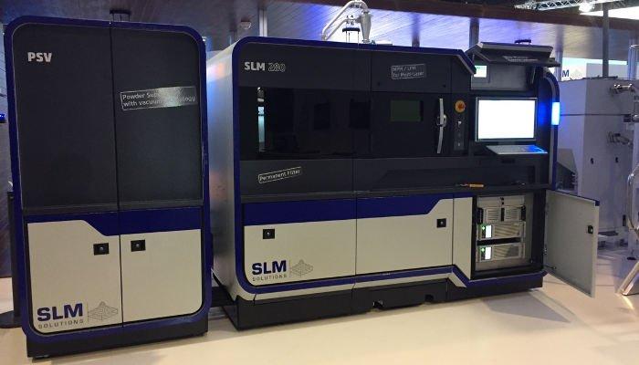 slm solutions metal 3d printer