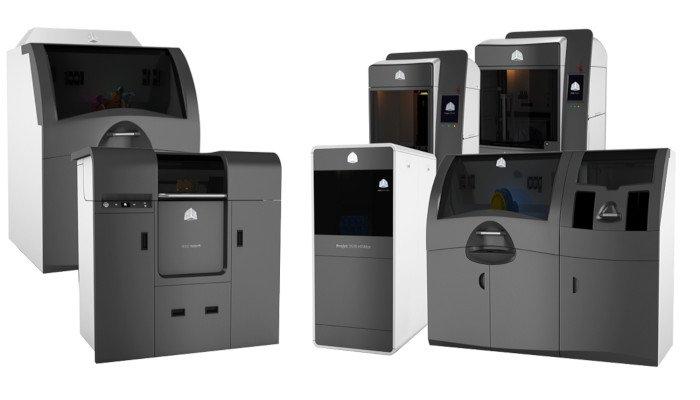 3d systems printer range