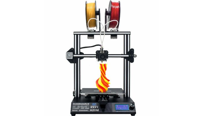 geeetech a20m single nozzle filament mixer