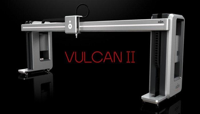 vulcan ii house 3d printer icon