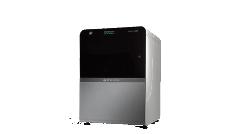 3d systems fabpro 1000 entry-level industrial resin 3d printer