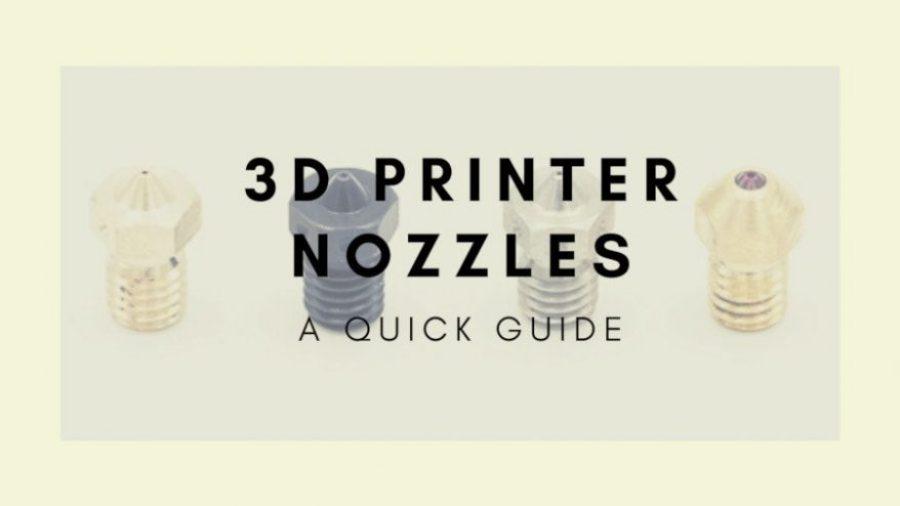 3d printer nozzle guide cover
