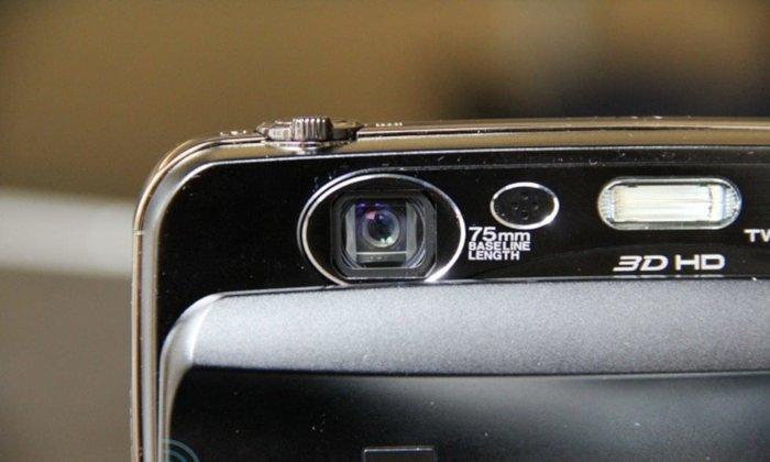 fujifilm finepix 3d stereo camera