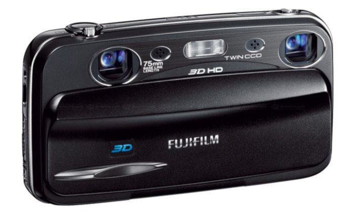 fujifilm finepix real 3d w3 stereo camera