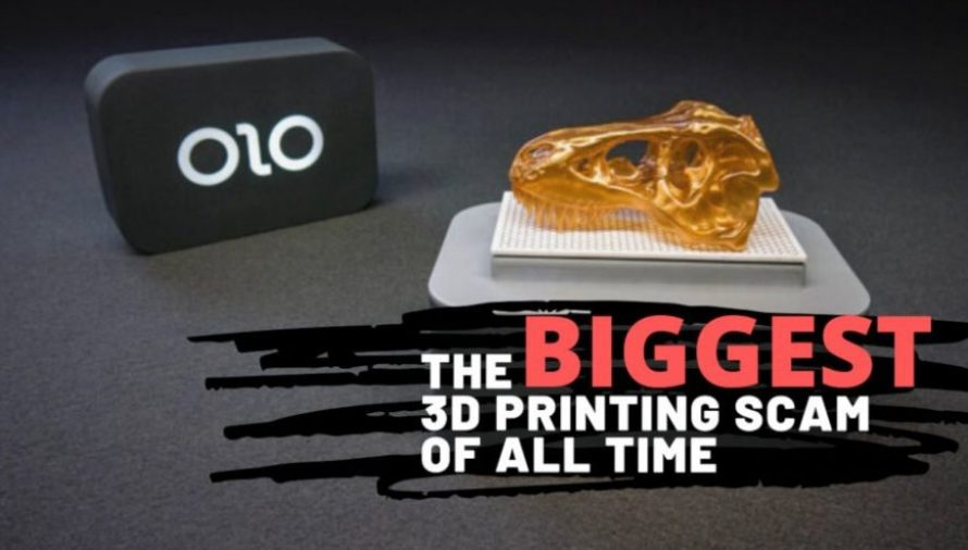 ONO: How the Biggest 3D Printing Scam of All Time Unfolded