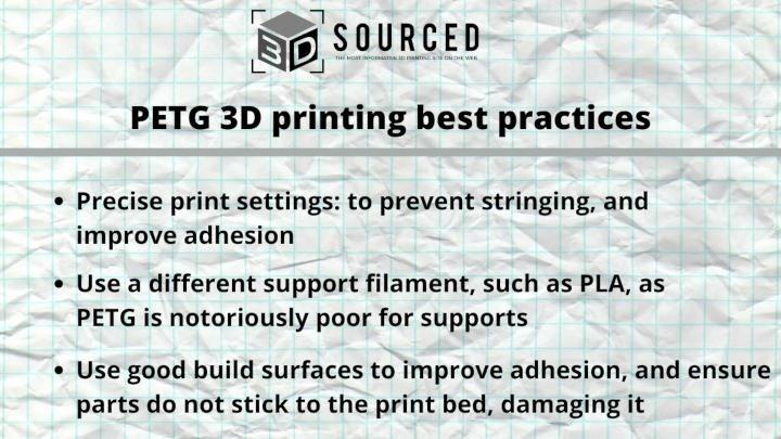 petg 3d printing best practices