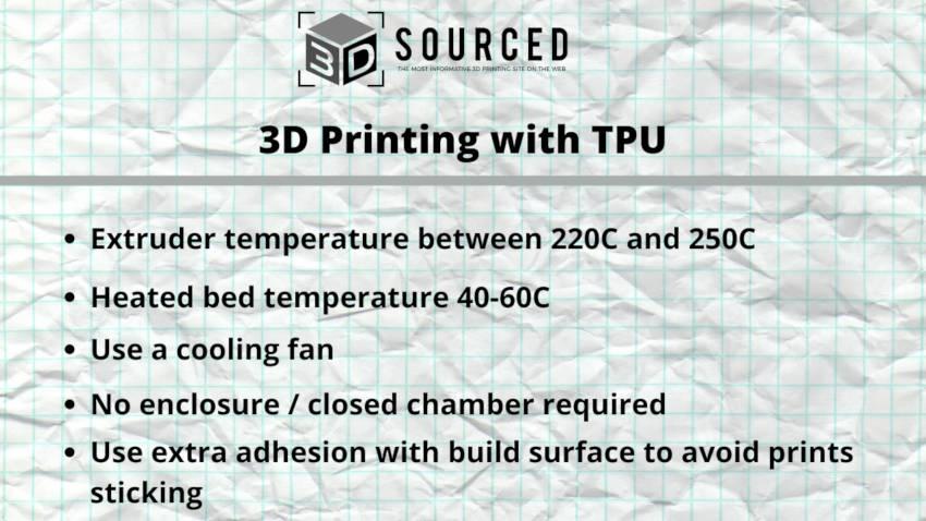 tpu 3d printing