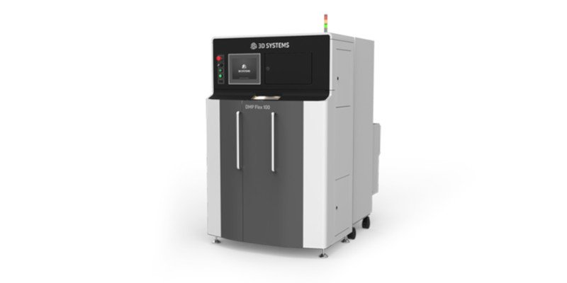 3d systems dmp flex 100 metal 3d printer