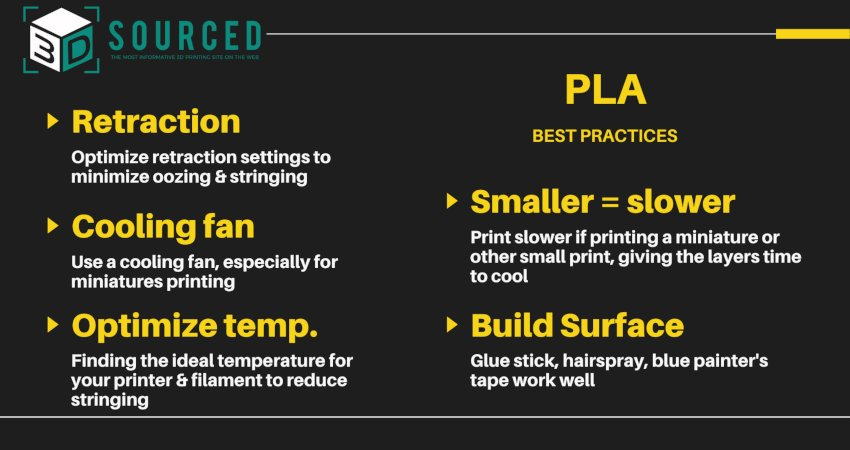 pla filament best practices tips and tricks for 3d printing