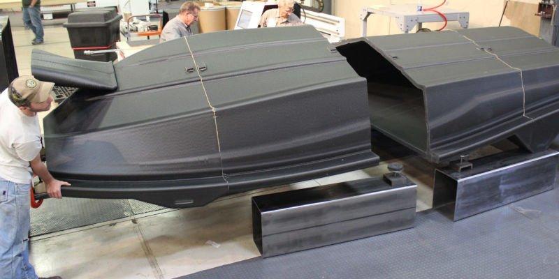 lsam 3d printed boat hull