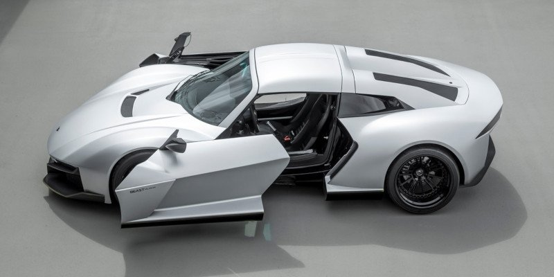 rezvani beast automotive with 3d printed parts