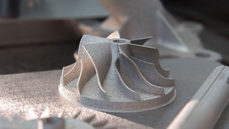 titanium 3d printed part