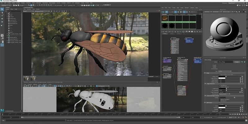 Autodesk Maya 3D animation software