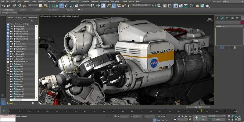 Autodesk 3DS Max 3D animation software