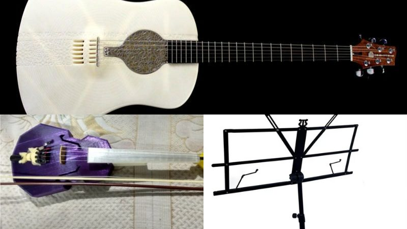 Coolest 3D Printed Instrument ideas