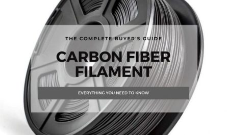 carbon fiber 3d printing filament guide